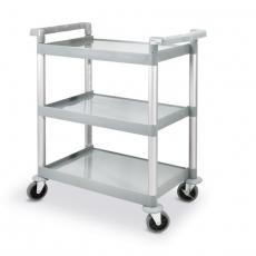 Wózek kelnerski 3-półkowy z tworzywa<br />model: 810200<br />producent: Hendi