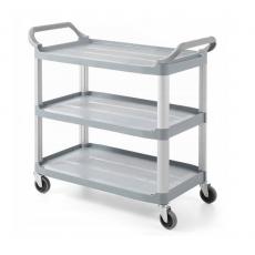 Wózek kelnerski 3-półkowy<br />model: 877937<br />producent: Hendi