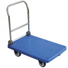 Wózek platformowy ze składanym uchwytem<br />model: 810514<br />producent: Hendi