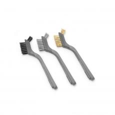 Szczotka do grilla wąska - zestaw 3 sztuk<br />model: 525531<br />producent: Hendi