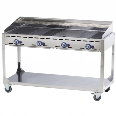 Grill gazowy Green Fire Kitchen Line 4-palnikowy<br />model: 149614<br />producent: Hendi