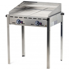 Grill gazowy Green Fire Profi Line 2-palnikowy<br />model: 149621<br />producent: Hendi