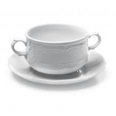 Bulionówka porcelanowa FLORA - 12 szt.<br />model: 309018<br />producent: Hendi
