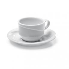 Filiżanka porcelanowa EXCLUSIV - 12 szt.<br />model: 328347<br />producent: Hendi