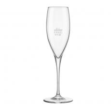 Kieliszek do szampana 100 ml - z cechą<br />model: 400562<br />producent: Bormioli Rocco