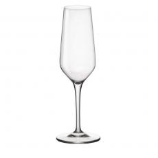 Kieliszek do szampana 100 ml - z cechą<br />model: 400563<br />producent: Bormioli Rocco