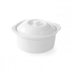 Naczynie do zapiekania z pokrywką - okrągłe <br />model: 785607<br />producent: Hendi