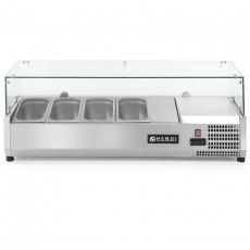 Nadstawa chłodnicza 4 GN 1/3<br />model: 232965<br />producent: Hendi