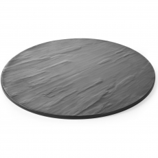 Płyta do prezentacji dań z melaniny okrągła<br />model: 561409<br />producent: Hendi
