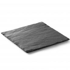 Płyta do prezentacji dań z łupku talerz kwadratowy<br />model: 424865<br />producent: Hendi