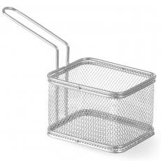 Koszyk miniaturowy do smażonych przekąsek<br />model: 426425<br />producent: Hendi