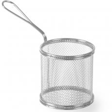 Koszyk miniaturowy do smażonych przekąsek<br />model: 426449<br />producent: Hendi