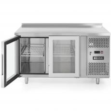 Stół chłodniczy 2-drzwiowy przeszklony<br />model: 233429<br />producent: Hendi