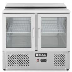 Stłół chłodniczy 2-drzwiowy przeszklony z pokrywą<br />model: 232743<br />producent: Hendi