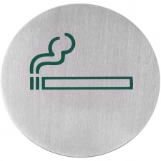 Tabliczka informacyjna samoprzylepna - miejsce przeznaczone dla palących<br />model: 663820<br />producent: Hendi