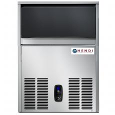 Kostkarka do lodu chłodzona powietrzem (wydajność 89 kg/dobę)<br />model: 272046<br />producent: Hendi