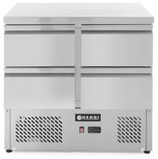Stół chłodniczy z 4 szufladami<br />model: 232767<br />producent: Hendi