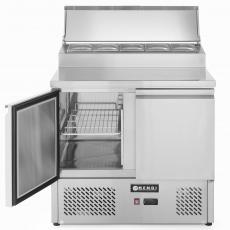 Stół chłodniczy 2-drzwiowy z nadstawą<br />model: 232880<br />producent: Hendi