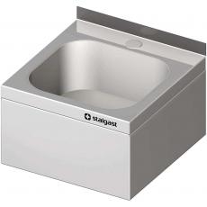 Umywalka ze stali nierdzewnej zabudowana<br />model: 610001<br />producent: Stalgast