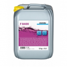 Płyn uniwersalny do mycia sztućców i naczyń Winterhalter F8400 12 kg<br />model: F8400/12kg<br />producent: Winterhalter