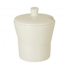 Cukiernica porcelanowa z pokrywą  RAK GIRO<br />model: GISU01<br />producent: Rak
