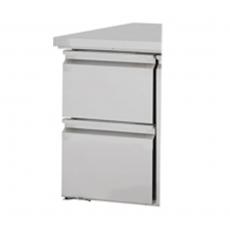 Moduł 2 szuflad do stołu chłodniczego<br />model: 841000/W<br />producent: Stalgast