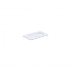 Pokrywka do GN 1/9 z białego poliwęglanu<br />model: 189001<br />producent: Stalgast