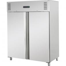 Szafa chłodnicza nierdzewna 2-drzwiowa GN 2/1<br />model: 840130<br />producent: Stalgast