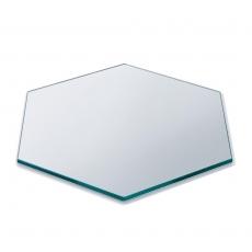 Płyta sześciokątna bufetowa ze szkła hartowanego HONEYCOMB<br />model: SG008<br />producent: Rosseto