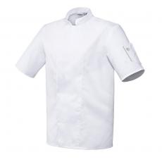 Bluza kucharska Nero biała krótki rękaw M<br />model: U-NE-WTS-M<br />producent: Robur