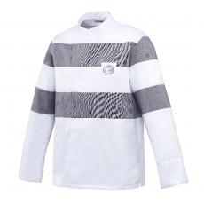 Bluza kucharska Vulby szara długi rękaw XS<br />model: U-VB-GLS-XS<br />producent: Robur