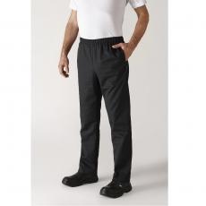 Spodnie kucharskie czarne Umini XXL<br />model: U-UI-B-XXL<br />producent: Robur