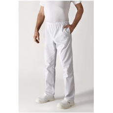 Spodnie kucharskie białe Umini XS<br />model: U-UI-W-XS<br />producent: Robur