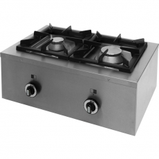 Kuchnia gastronomiczna gazowa 2-palnikowa Modular<br />model: 960423<br />producent: Stalgast