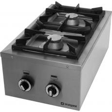 Kuchnia gastronomiczna gazowa 2-palnikowa Modular<br />model: 960513<br />producent: Stalgast