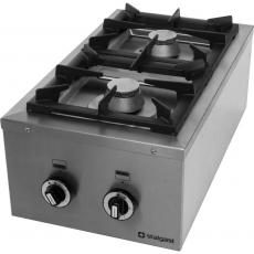 Kuchnia gastronomiczna gazowa 2-palnikowa Modular<br />model: 960523<br />producent: Stalgast