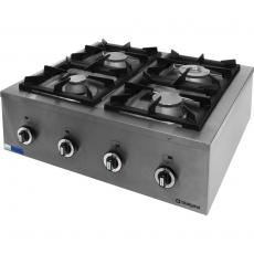 Kuchnia gastronomiczna gazowa 4-palnikowa Modular<br />model: 960613<br />producent: Stalgast