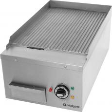 Płyta grillowa elektryczna ryflowana Modular<br />model: 963020<br />producent: Stalgast