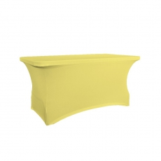 Pokrowiec na stół 180 cm kanarkowy<br />model: V-P180-Y<br />producent: Verlo