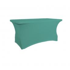 Pokrowiec na stół 180 cm turkusowy<br />model: V-P180-C<br />producent: Verlo