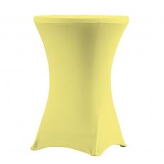 Pokrowiec na stół koktajlowy 80 cm kanarkowy<br />model: V-C80-Y<br />producent: Verlo
