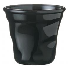 Kubek gnieciony jednorazowy czarny - 12 szt.<br />model: CO-VSK6N<br />producent: Tom-Gast