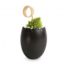 Naczynie jednorazowe jajko czarne - 20 szt.<br />model: FF-CV50N<br />producent: Tom-Gast