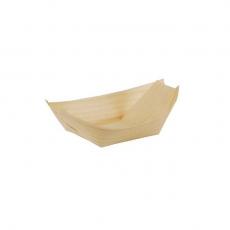 Drewniane naczynie łódka - 50 szt.<br />model: GS-84413<br />producent: Tom-Gast