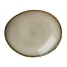 Talerz owalny Sama - STONE<br />model: 799895<br />producent: Luzerne