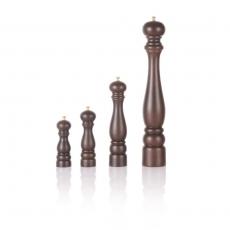 Młynek do soli drewniany brązowy<br />model: 469101<br />producent: Lidrewa