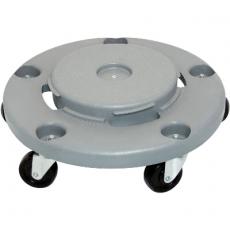 Podstawa na kołkach do pojemnika na odpadki 120 l<br />model: 068124/W<br />producent: Stalgast