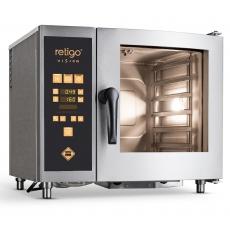 Piec konwekcyjno-parowy elektryczny VISION ORANGE O 623 i z sondą i prysznicem<br />model: 00024140<br />producent: Retigo