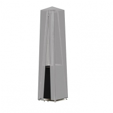 Pokrowiec na lampę 272404 z foli peva<br />model: 144909<br />producent: Hendi