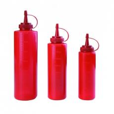 Dyspenser z miarką czerwony<br />model: E-61970R<br />producent: Tom-Gast